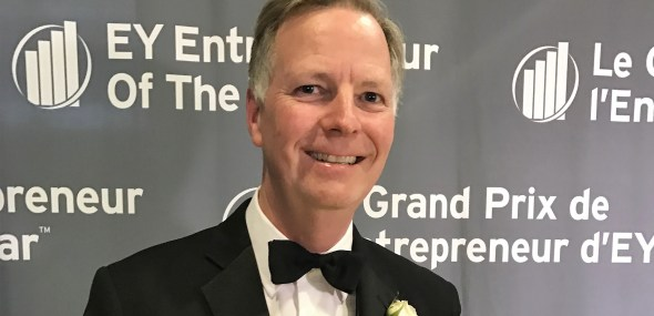 Bob Peacock – Winner  EY Entrepreneur Of The Year™ 2016 Award