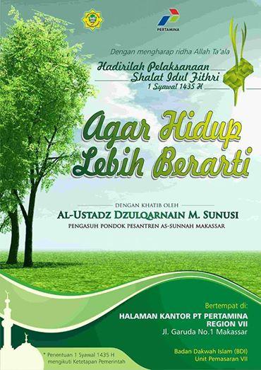jadwal-khutbah-idul-fitri-makassar-1435 H