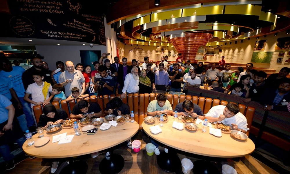 Nandos Chicken Wing Eating Competition 2015 2 (1)