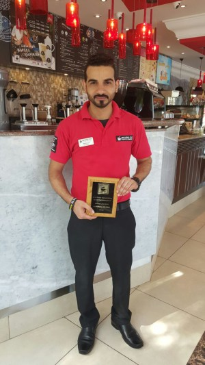 Second Cup - Adnan Al Balushi - Omani Barista Named Best in Region