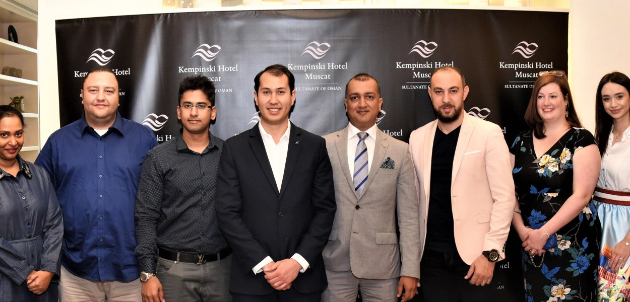 Kempinski Hotel Muscat celebrates its first anniversary_Media Gathering