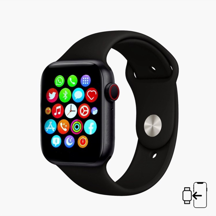 LIFESTYLE STORES_Smartwatch with Bluetooth and Touch Screen Features 99aed@LIFESTYLE STORES