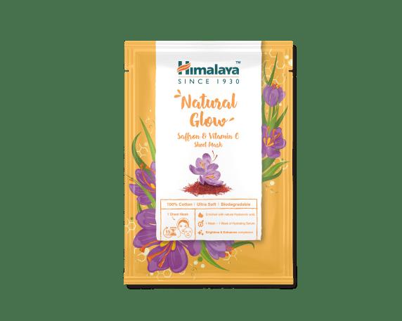 Sheet Mask 30ml - Natural Glow Saffron & Vitamin C Sheet Mask_AED 10.40