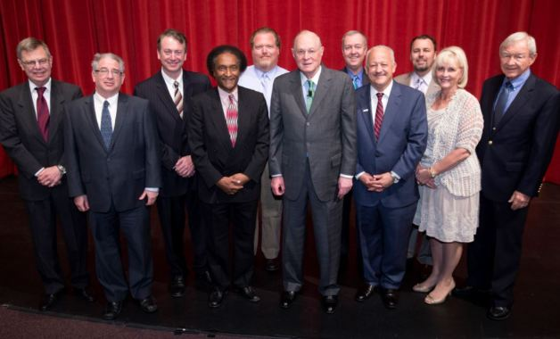 Justice Anthony Kennedy and Cal State San Bernardino President, Political Science Faculty and Others in 02/2015