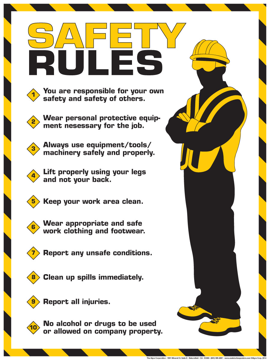 Labor Safety Videos And Posters