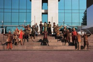 казахский национальный костюм, Арлан жете Театр национального костюма, традиции казахов, День национального костюма, Муслим Жумагалиев