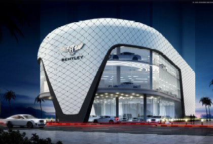 Bentley Showroom Umm Al Sheif Al Mayas Insulation