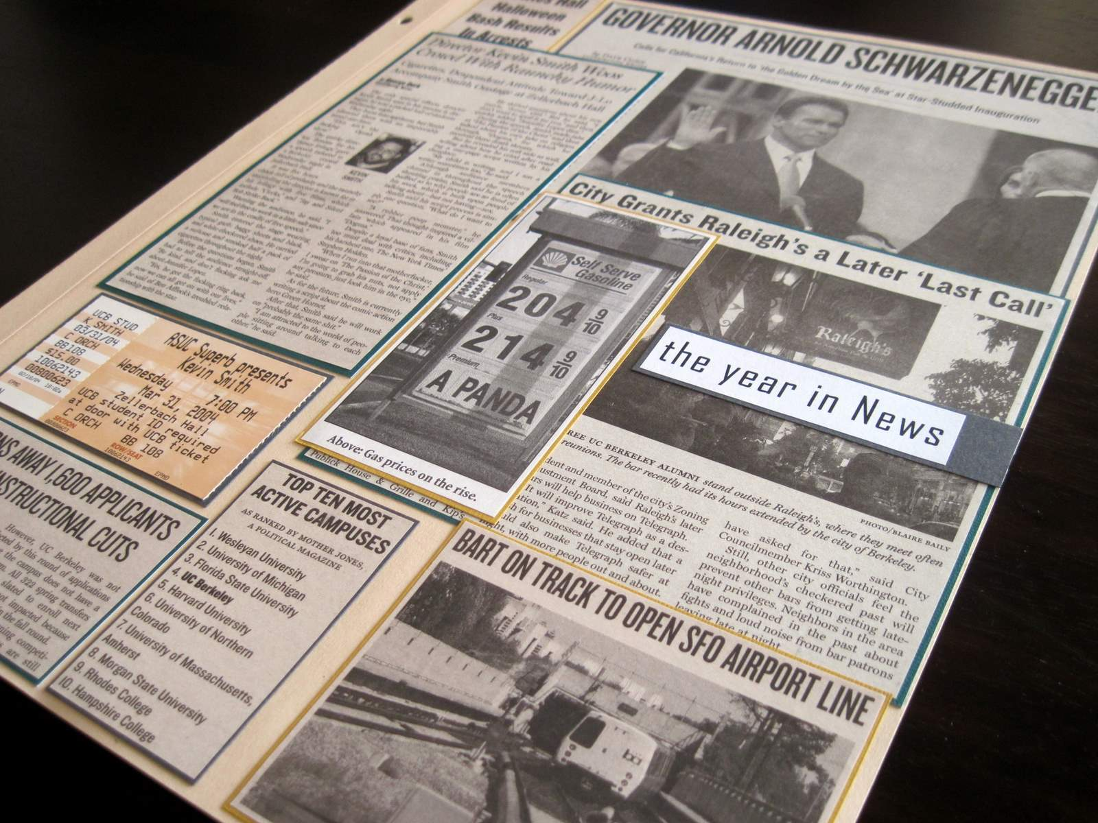 How to scrapbook magazine articles - Download