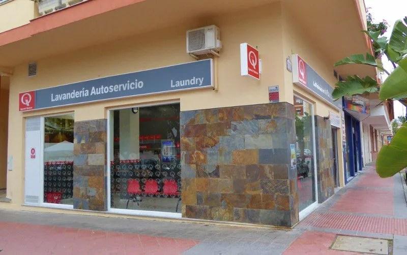 self service laundromat Almuñécar