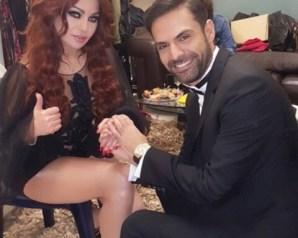كيف علّقت زوجة أمير طعيمة على صورته مع هيفاء وهبي التي أشعلت مواقع انستغرام
