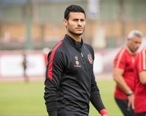 محمد الشناوى يشيد بأداء لاعبى الأهلى أمام وفاق سطيف