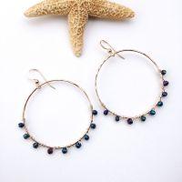 Goddess Hoop Earrings | Aloha Bangles