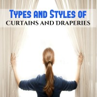 Types Of Curtains And Draperies. Types And Styles Of ...