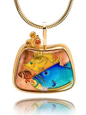 Alohi Lani Designs Cloisonne, Plique a Jour  Champleve Enameling