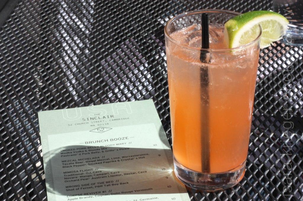 Tiger Lily – Corralejo Tequila Blanco, Aperol, grapefruit, soda $12.