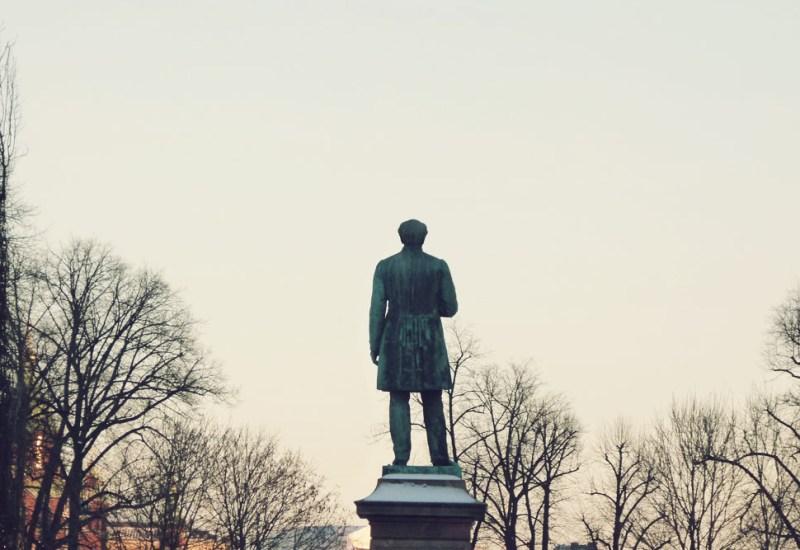Esplanade Statue Helsinki