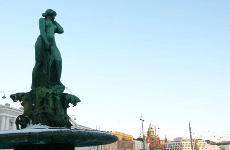 Famous Waterfall Helsinki