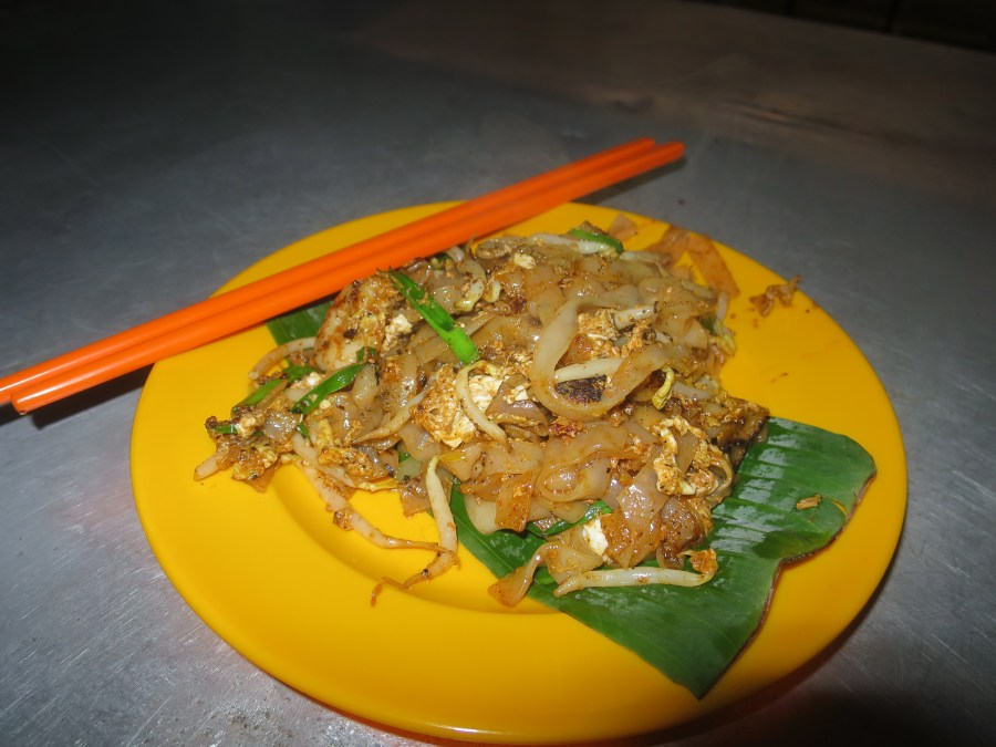 Char kway teow, one of Malaysia's specialties