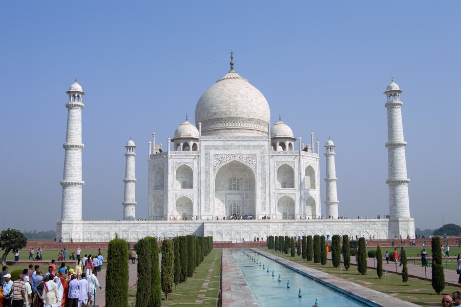 I'll be damned if the Taj Mahal isn't the single most impressive building I've ever seen though
