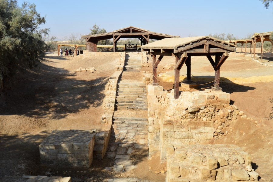 Bethany by the Jordan, the site that archaeological and historical records point to as the location of Jesus' baptism