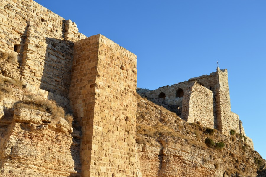 Kerak Castle, from the time of the Crusades