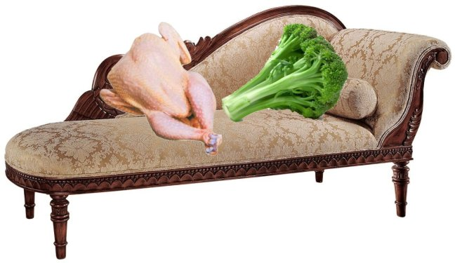 Broccoli and Chicken on Divan