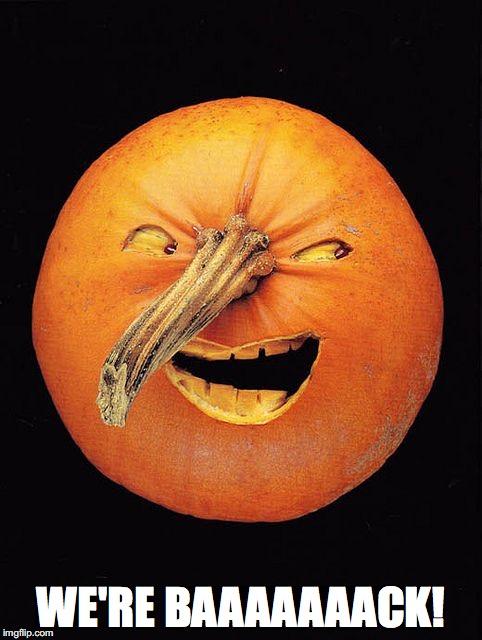 Creepy pumpkin