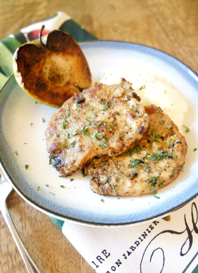 Pork with Pan-Fried Apples