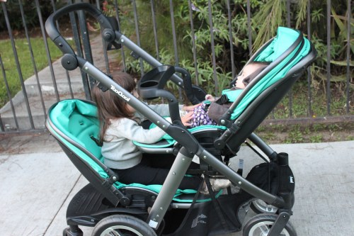 Medium Of Double Stroller For Infant And Toddler