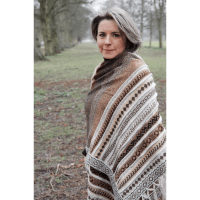 Ladies Alpaca Shawl