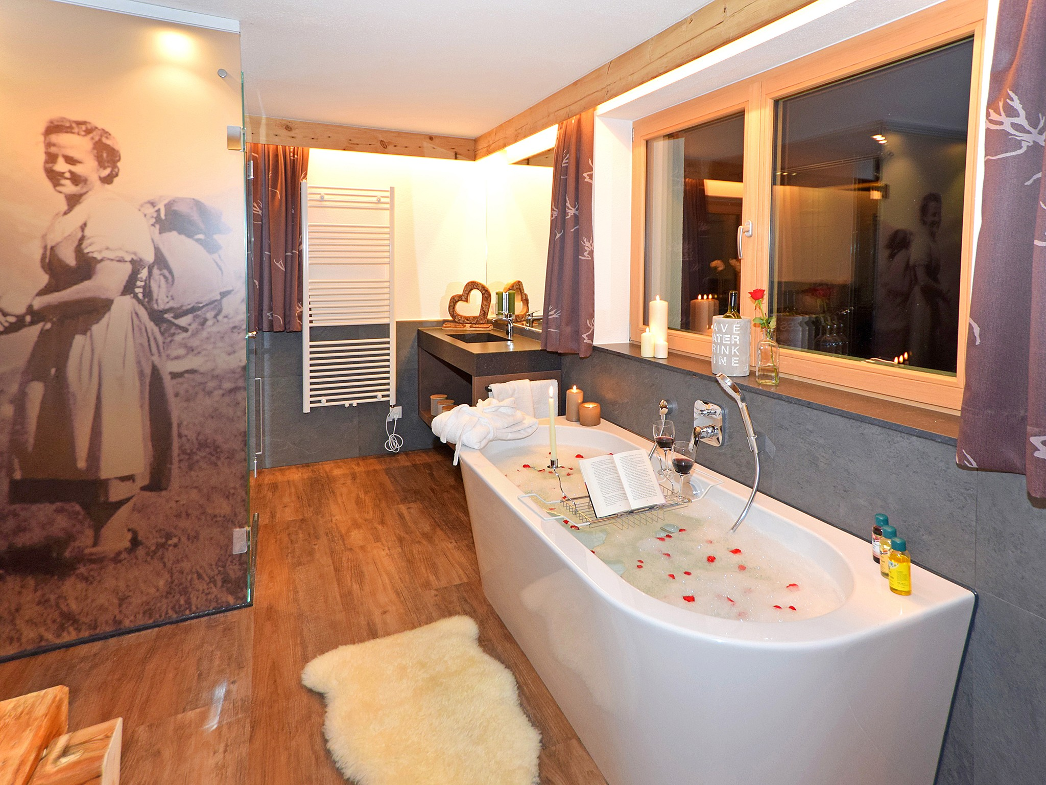 Badezimmer Blue Pearl Chalet Zillertal Pearl 7 Pers In Zillertal