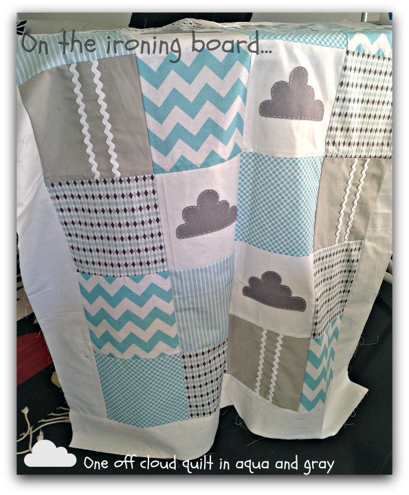 cloud crib quilt by alphabet monkey