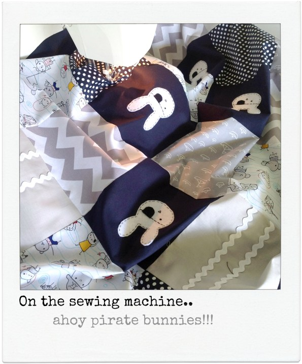 crib quilt by alphabet monkey