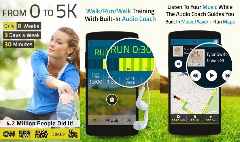 5K Run 5K Runner Training app