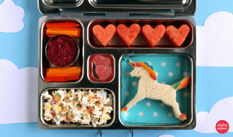 A Magical Unicorn Bento Box Kids Lunch Alpha Mom