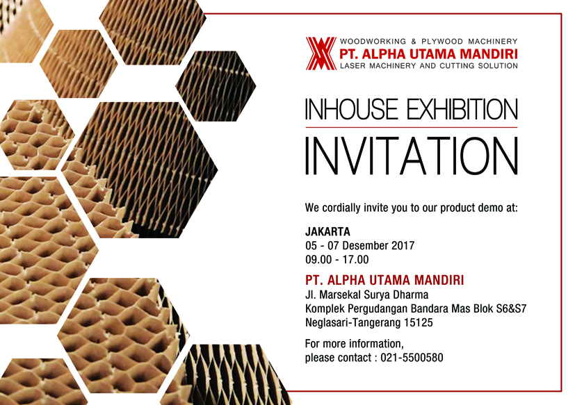 Undangan Inhouse Exhibition