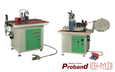 Tilting Manual Edge Banding Machine / Trimming Machine