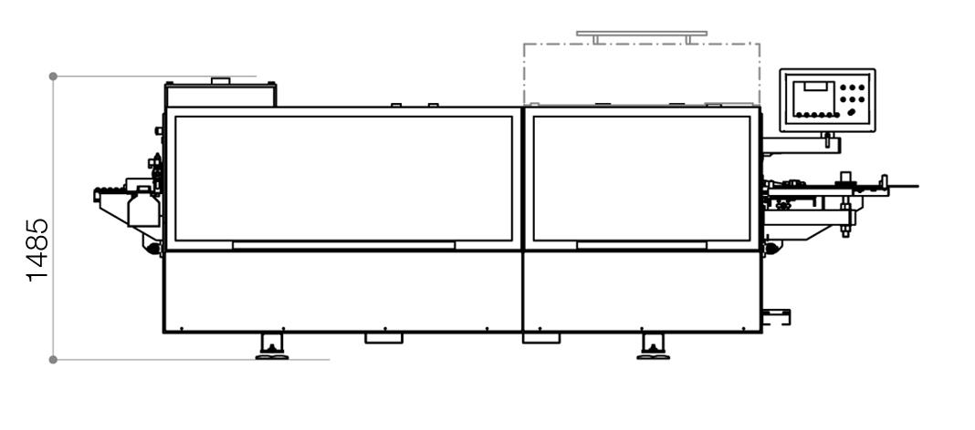 Dimensional drawing Flexa 27A_1