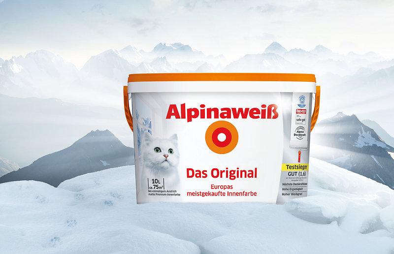 Alpinaweiß gewinnt bei Stiftung Warentest! - Alpina Farben - warentest fassadenfarbe