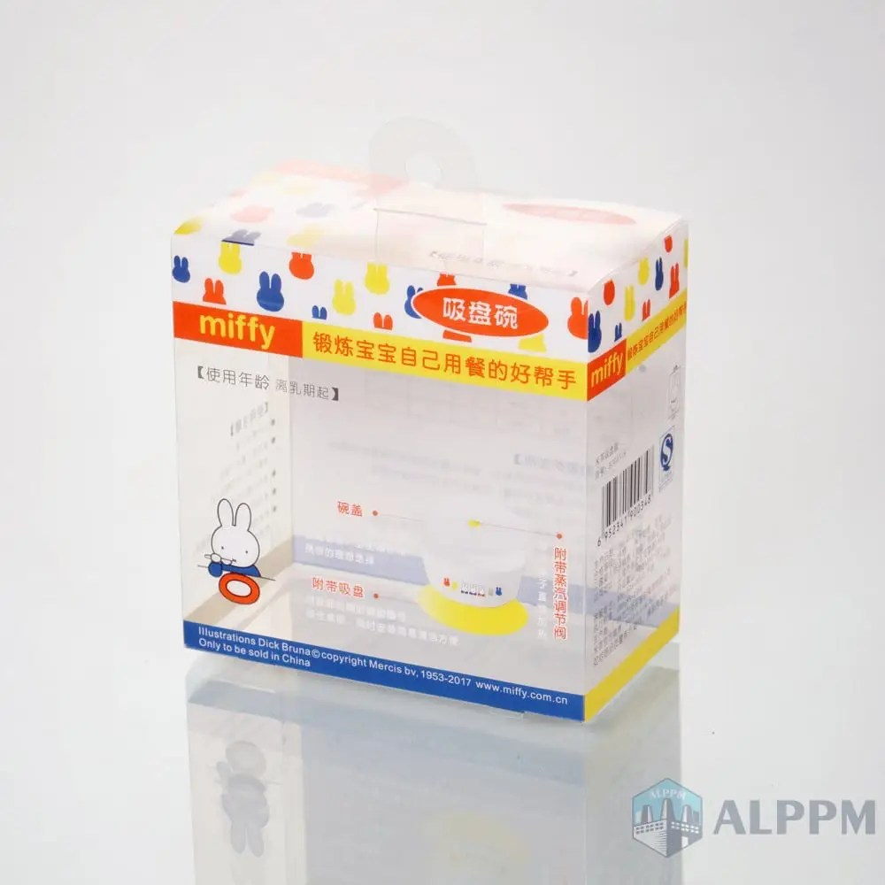 Kunststoff Box Clear Pet Plastic Boxes For Miffy Baby Product Packaging Box
