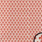 Dekoreret forsats – rød