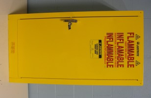 Refurbished Justrite 25710 Flammable Liquid Storage Cabinet
