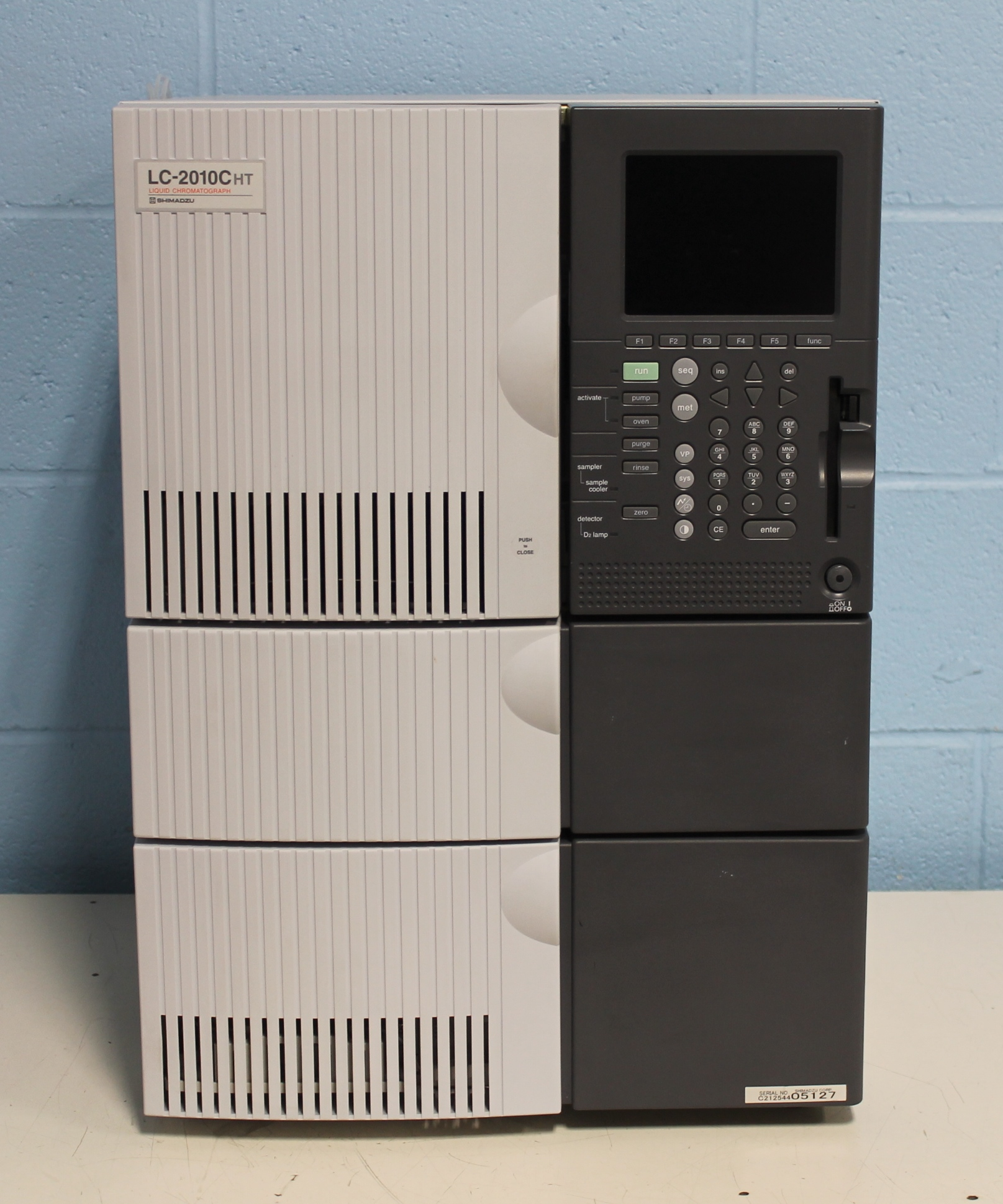 Compact Hplc System Refurbished Shimadzu Lc 2010cht Hplc System