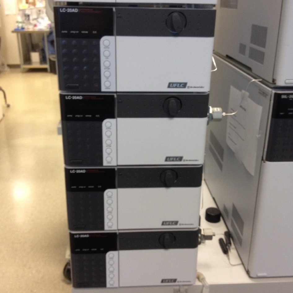 Compact Hplc System Refurbished Ab Sciex Api 3200 Lc Ms Ms With Shimadzu Hplc