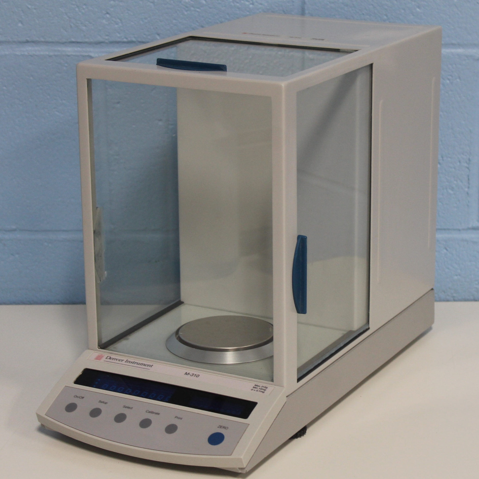 Balance Laboratory Apparatus Refurbished E C Apparatus Corp M 310 Analytical Balance