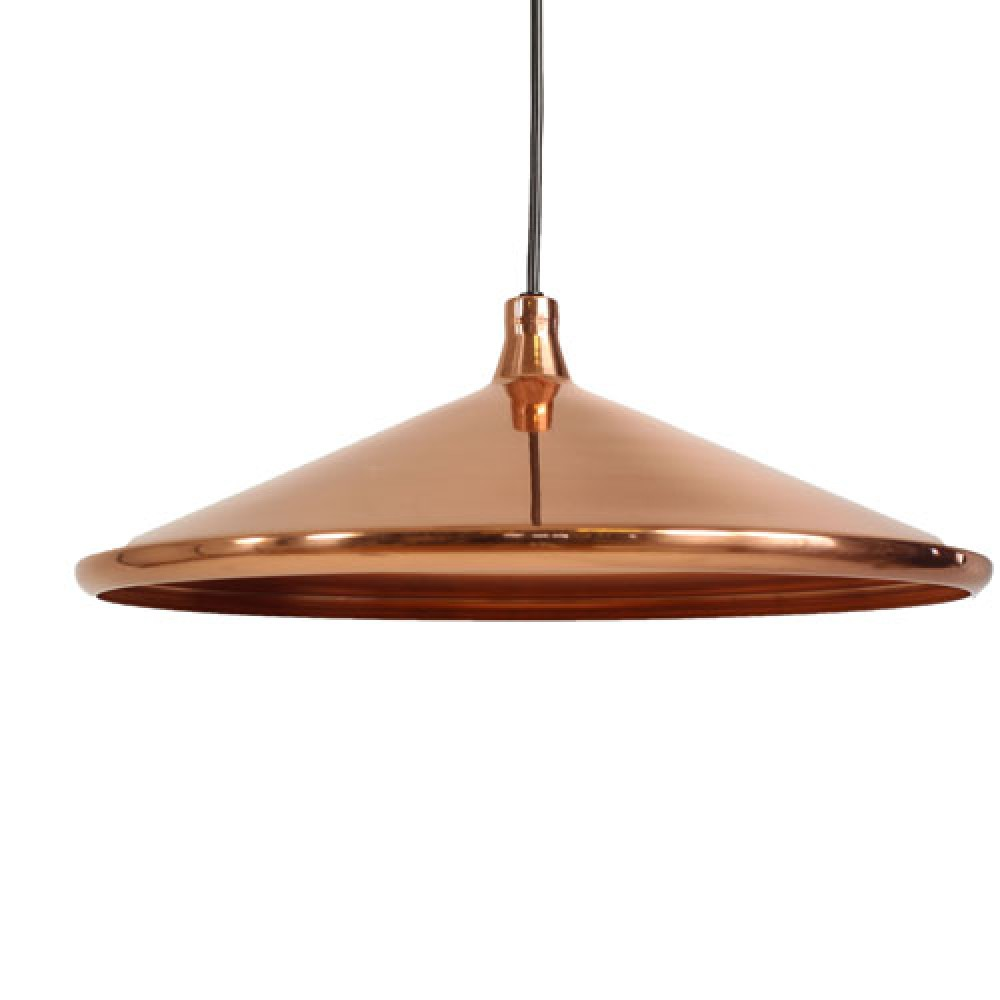 Lampe Suspension Cuivre Altalum Suspension Plat Cuivre 358 80