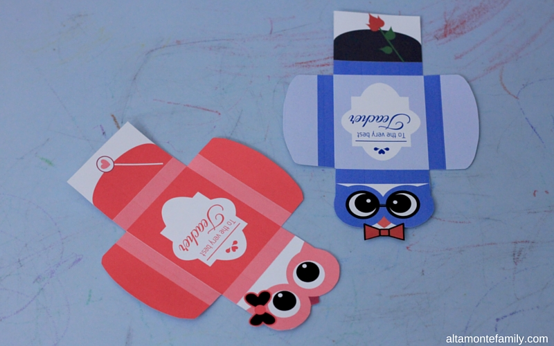2 Free Printable Valentine\u0027s Day Owl Gum Wrappers