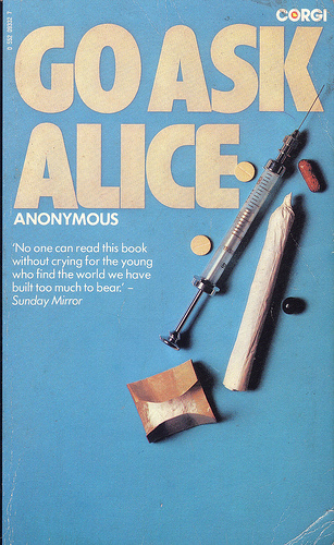 Vintage Book Cover: Go Ask Alice