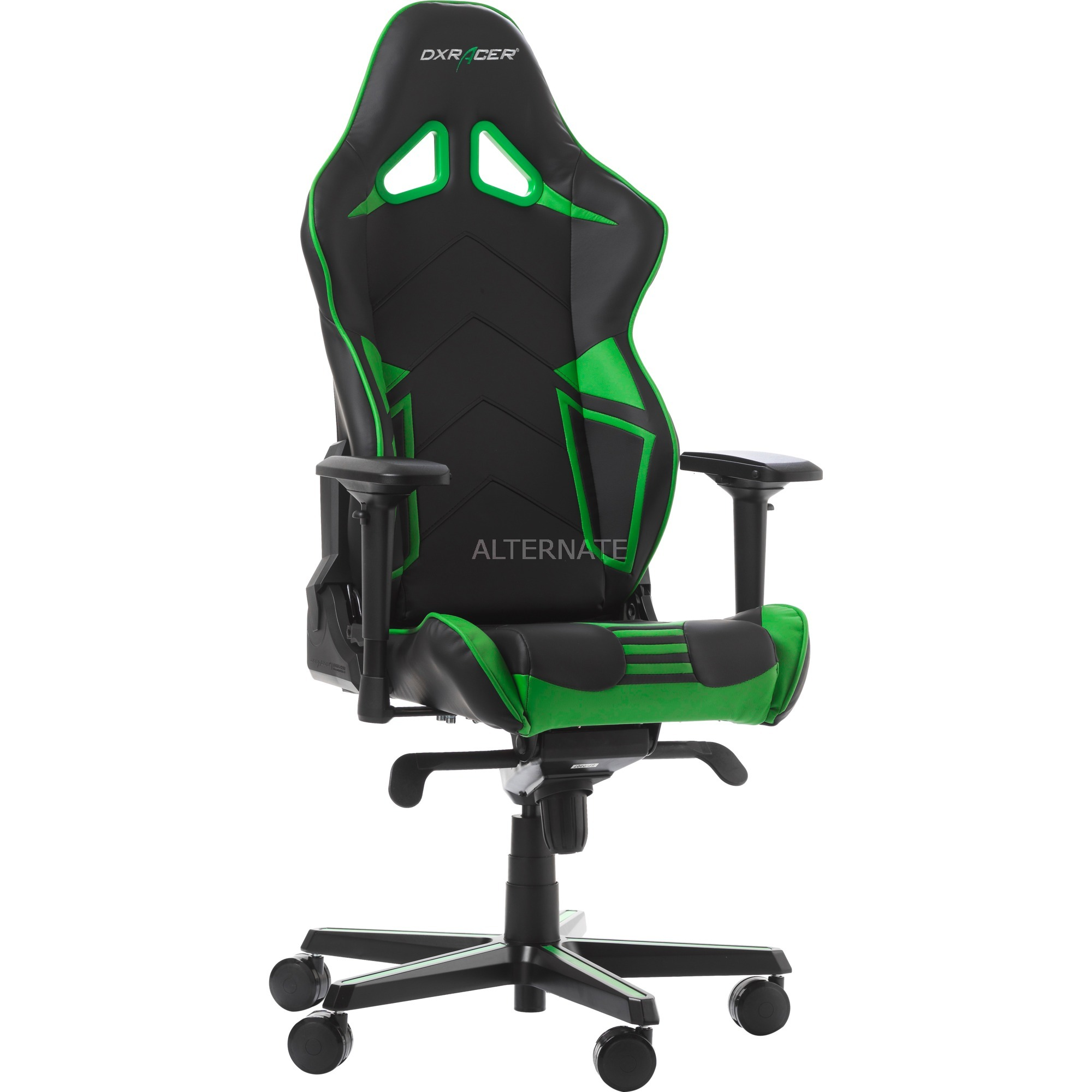 Gaming Stühle Racing Pro Gaming Chair Gaming Stuhl Schwarz Grün