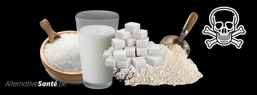 les 4 poisons blancs
